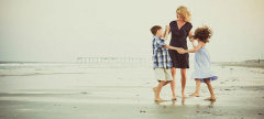 Family Jersey Shore Beach Portraits with Betsy Barron Fine Art Photography