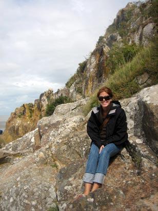 Missy on the Rocks