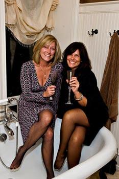 Lynne Rohlfing & Brenda Von Errick celebrate in style