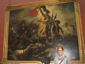 Delacroix at the Louvre