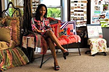 Fill-a-Pillow CEO Monica Walker Miraglilo