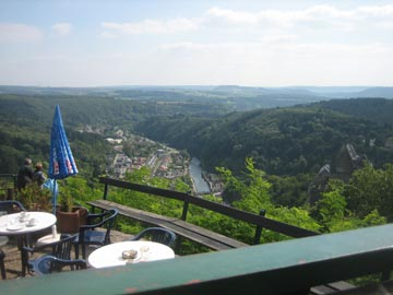 View from the Bar<br>Vianden, Luxembourg