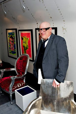 "Doing it My Way<br>Morrie Breyer in His Signature Room Entitled ""My Space"""