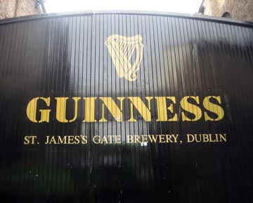 Saint James's Gate<br>The Birthplace of Great Beer