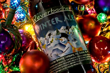 Weyerbacher Winter Ale is a guaranteed crowd pleaser for your holiday party.