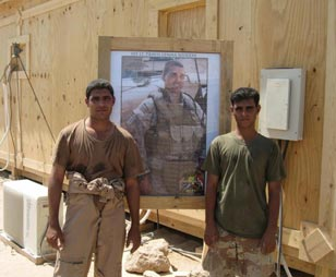 The Iraqis Travis had served with were devastated by his death, and chose to remember him by renaming an outpost in his honor. Only two outposts in Iraq are named for Americans.
