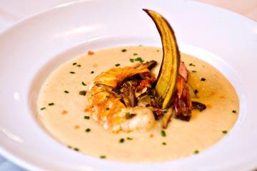 Baked Potato & Lobster Stew, Courtesy of Chef Nick Farina