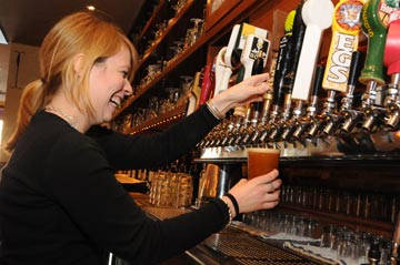 Taps, like the terrific selection at Teresa's Next Door in Wayne, will be pouring steadily starting March 6th as Philly Beer Week kicks off with a great reception at The Comcast Center in Philadelphia.