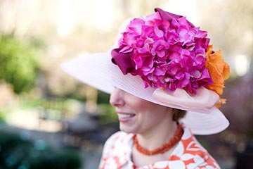 My Fair Lady<br>Owner and Milliner Jen McGowan of Jackie's Hat Box