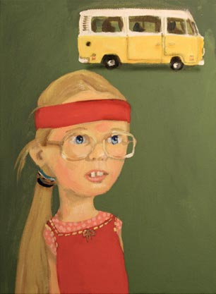 Little Miss Sunshine…Ode to Olive $35