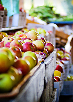 Bring fresh apples home from a nearby orchard, like Media's Linvilla, for your delicious Deep Dish Apple Pie recipe.