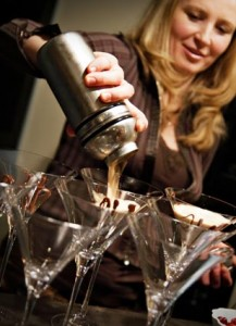 Chef and 'Mommy Martini Night' hostess Olga Sorzano is available for private parties and functions around the Main Line and Delaware Valley.