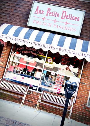 Wayne's famed Aux Petits Delices Bakery set the scene for a fun afternoon of sweets and suds.