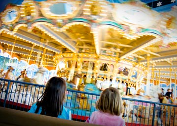 Everyone enjoys a carousel!