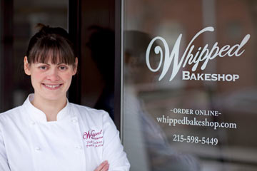 Cake Boss Zoe Lukas credits social media, a strong following on Twitter most notably, with her shop's speedy notoriety in just three months of business. Follow Lukas on Twitter: WhippedBakeshop