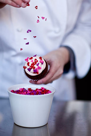 Whipped Bakeshop will be delivering Valentine's Day weekend. Pricing for delivery to Center City is $20, pickup is free.