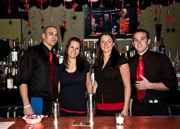 The friendly and talented staff at Spamps made Be Mine a great success for all the partygoers!