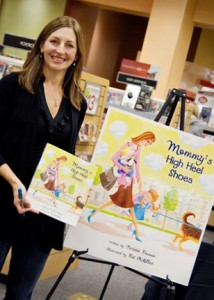 Finnan, who published her first children's book on her own, is hoping to catch the eye of a major publishing house.