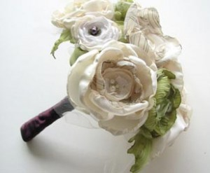 Reim designs custom bridal bouquets for approximately $125 that will never wither and can be cherished as a family heirloom.