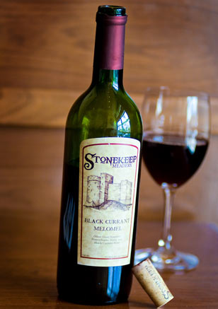 Stonekeep Meadery's Black Currant Melomel can be used as a marinade and also pairs well with pork chops and red meat.