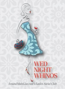 Wednesday Night Whinos is AML's official ladies social club. Logo design courtesy of Two Paperdolls.