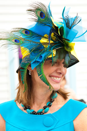 Fashion at Devon is such a big part of the horse show culture. The Devon Hat Day continues, with emcee Carson Kressley, on Wednesday, June 2, from 12:30 to 2:30 p.m.  Registration begins at 12:30.