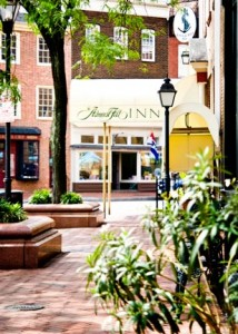 The Admiral Fell Inn is a renovated urban inn located on Baltimore's celebrated waterfront.