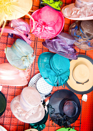 Hats by Katie's most famous hat is the Mini-Topper (tm). This style has been worn by Lisa Singer, Suzy Stafford, Sharon Chesson and Lana Wright in all the many combined driving World Championships they competed in, both here and overseas.
