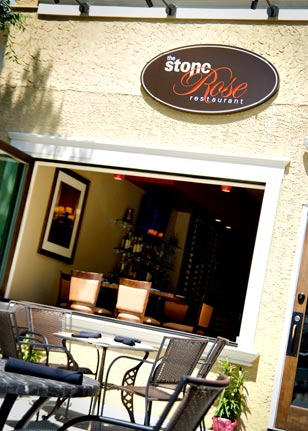 With Conshohocken's only open air dining setting, The Stone Rose Restaurant has become a popular neighborhood destination.