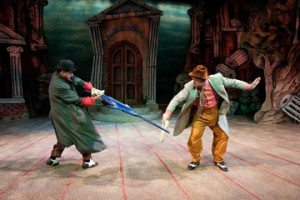 People's Light and Theatre Company presents The Emperor's New Clothes, through July 11, 2010. A world premiere production, with a script by Richard Hellesen, it is based on the children's classic tale by Hans Christian Andersen.