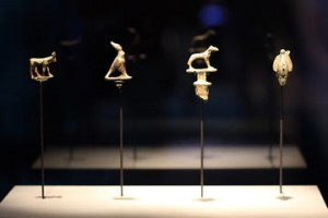 The nearly 150 artifacts in the exhibition – from the smallest gold pieces and coins to colossal statues – provide a window into Cleopatra's story as well as the daily lives of her contemporaries, both powerful and humble.
