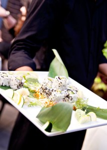 Incredible complimentary appetizers all night long really wowed the crowd!