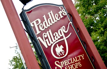Peddler's Village annual Apple Festival is Saturday, November 6th and Sunday, November 7th, 2010.