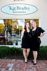 Sister, Sister! L to R: Kat Bradley owner Whitney Ayerle Bachrach with sister and business partner Liz Ayerle of renowned Main Line boutique-Fresh Ayer.