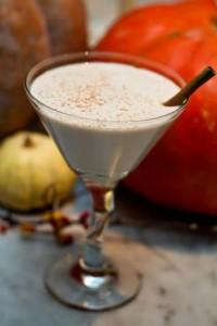 Du Jour's Pumpkin Chai Martini