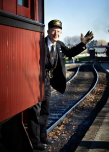 All Aboard! Ride the rails on one of three regional railroads across the western suburbs this holiday season.