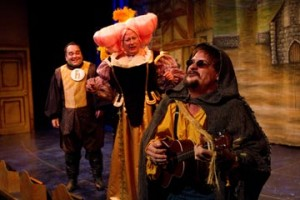The Three Musketeers is the seventh Panto in what has become an annual holiday tradition at People's Light.