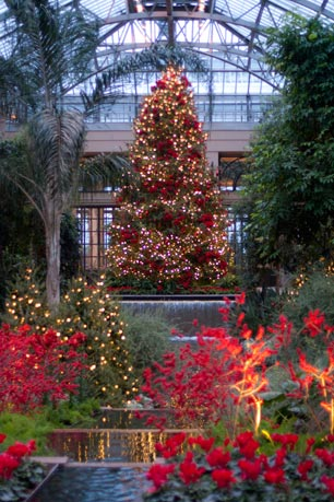 A Longwood Gardens Christmas runs through January 9, 2011.