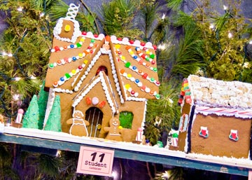 "A ""must see"" for visitors is the 30th Annual Gingerbread House Competition and Display, featuring more than 100 incredible creations of gingerbread and confection in the Village Gazebo."