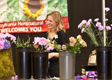 Donna O'Brien of Beautiful Blooms Education is also a large aspect of the Show and more than 150 free presentations and instructional displays will focus on the newest gardening trends, featuring renowned national experts and designers.