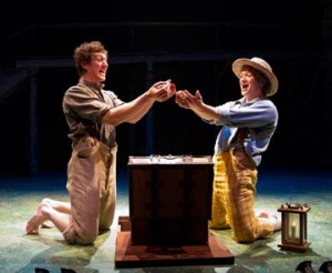 A lively adaptation of Mark Twain's colorful American classic, The Adventures of Tom Sawyer features the hilarious antics of the mischievous Tom and Huck Finn, whose stories have inspired generations.