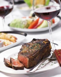 One very lucky Whino, who must be present for the drawing, will win a $100 gift certificate to Fleming's Steakhouse on Wednesday evening, February 9th.