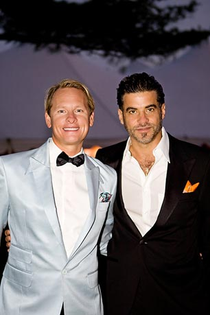 Carson Kressley, of 'Queer Eye for a Straight Guy' fame, is on the board for Black Tie and Boots and is an entertaining regular each year-assisting with the live auction.