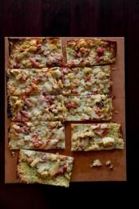 Yummy flatbreads are part of Harvest's popular seasonal cuisine.