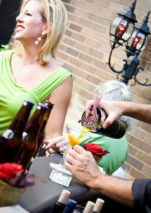 Whinos will wine and dine outside at one of Susanna Foo's fun patios on June 8th!
