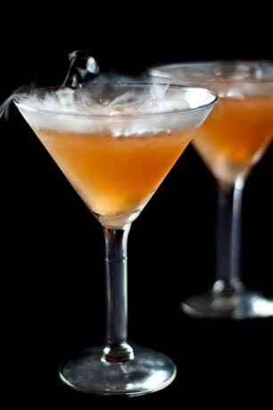 Five lucky AML Facebook fans who bring two or more people with them to the soiree will have a chance to win a free Spookytini during the party!