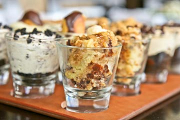 Fall Desserts at Harvest: Apple Crisp, Harvest Pumpkin Pie, Carrot Cake, Bread Pudding and more