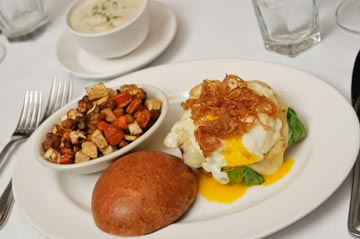 3-courses in 45 minutes - that's the beauty of The Capital Grille's new $18 lunch!