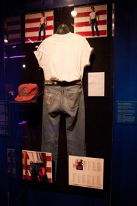 Throughout the 5,000-square-foot exhibition, visitors will have the rare opportunity to view more than 150 items, including the outfit Springsteen wore on the cover of Born in the U.S.A.