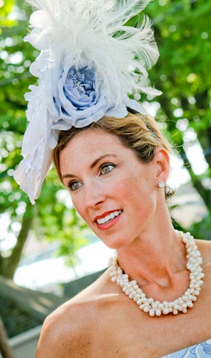 Elegant and effortlessly beautiful! Ladies in hats enter the horse show grounds for free until 1pm on Wednesday, May 30th as part of Ladies Day at Devon.